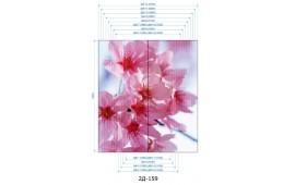 Фотопечать 2Д-159 для шкафа-купе на две двери. Цветы