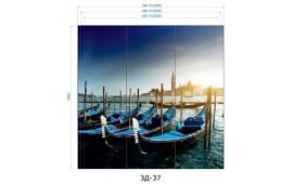 Фотопечать 3Д-37 для шкафа-купе на три двери. Венеция