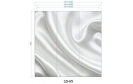 Фотопечать 3Д-65 для шкафа-купе на три двери. Абстракция