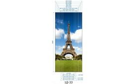 Фотопечать 1Д-33 для шкафа-купе на одну дверь. Париж