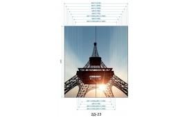 Фотопечать 2Д-23 для шкафа-купе на две двери. Париж