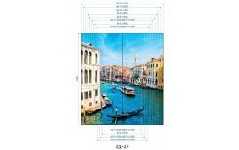 Фотопечать 2Д-27 для шкафа-купе на две двери. Венеция