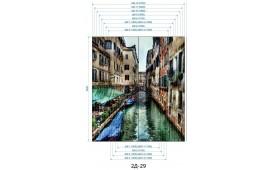 Фотопечать 2Д-29 для шкафа-купе на две двери. Венеция