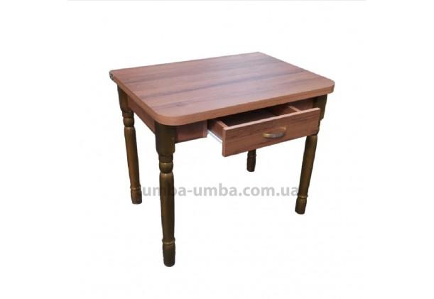 Кухонный стол Барвинок-4 раскладной с шухлядой