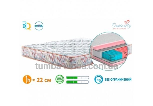 Фото двусторонний ортопедический матрас Камелия в спальню недорого от производителя Матролюкс с доставкой по всей Украине