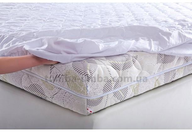 Фото наматрасник Бязь натяжной в спальню недорого от производителя Матролюкс с доставкой по всей Украине
