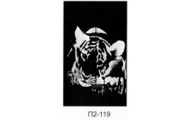 Пескоструйный рисунок П2-108 на две двери шкафа-купе. Детское