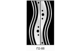 Пескоструйный рисунок П2-88 на две двери шкафа-купе. Узор