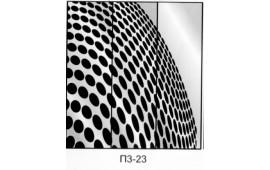 Пескоструйный рисунок П3-23 на три двери шкафа-купе. Узор