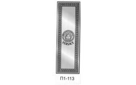 Пескоструйный рисунок П1-113 на одну дверь шкафа-купе. Узор