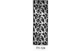 Пескоструйный рисунок П1-124 на одну дверь шкафа-купе. Узор