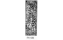 Пескоструйный рисунок П1-125 на одну дверь шкафа-купе. Узор