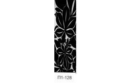 Пескоструйный рисунок П1-128 на одну дверь шкафа-купе. Узор