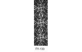 Пескоструйный рисунок П1-133 на одну дверь шкафа-купе. Узор