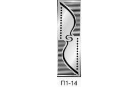 Пескоструйный рисунок П1-14 на одну дверь шкафа-купе. Узор