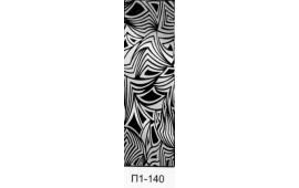 Пескоструйный рисунок П1-140 на одну дверь шкафа-купе. Узор