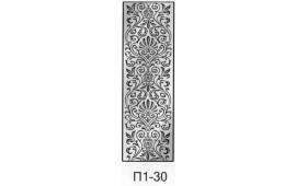 Пескоструйный рисунок П1-30 на одну дверь шкафа-купе. Узор