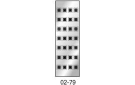 Пескоструйный рисунок 02-79 на одну дверь шкафа-купе. Цветы