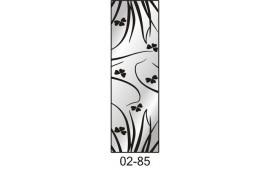 Пескоструйный рисунок 02-85 на одну дверь шкафа-купе. Узор