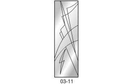Пескоструйный рисунок 03-11 на одну дверь шкафа-купе. Узор