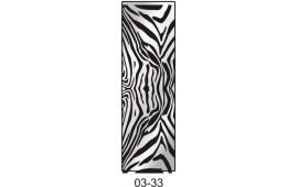Пескоструйный рисунок 03-33 на одну дверь шкафа-купе. Узор