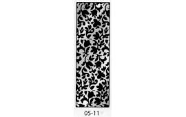 Пескоструйный рисунок 05-11 на одну дверь шкафа-купе. Цветы