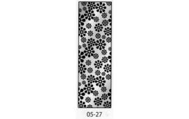 Пескоструйный рисунок 05-27 на одну дверь шкафа-купе. Узор