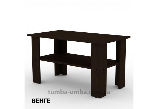 фото недорогой современный журнальный стол Мадрид-2 Компанит цвет Венге в интернет-магазине мебели эконом-класса TUMBA-UMBA™