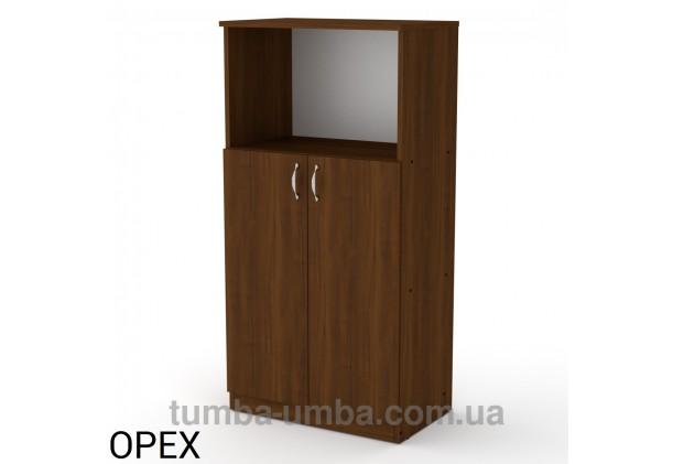Фото недорогая готовая стандартная тумба КШ-15 ДСП для дома и офиса в цвете Орех Экко дешево от производителя с доставкой по всей Украине