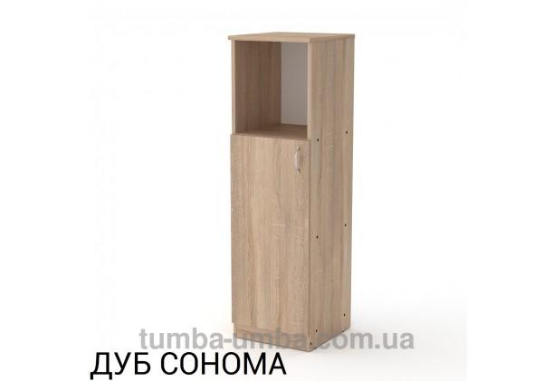 Фото недорогая готовая стандартная тумба КШ-16 ДСП для дома и офиса в цвете дуб сонома дешево от производителя с доставкой по всей Украине