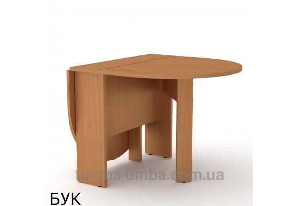 фото недорогой современный журнальный стол Книжка-5 ДСП Компанит цвет бук в интернет-магазине мебели эконом-класса TUMBA-UMBA™