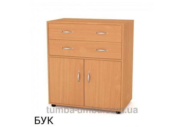 Фото недорогой современный комод 2+2 Компанит цвет бук в интернет-магазине TUMBA-UMBA™ Украина