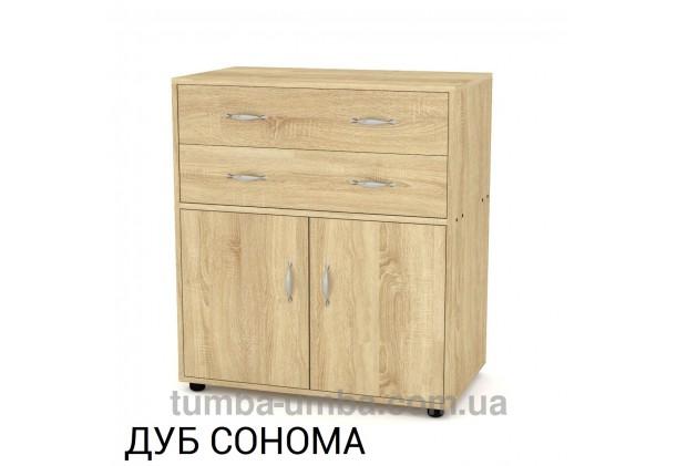 Фото недорогой современный комод 2+2 Компанит цвет дуб сонома в интернет-магазине TUMBA-UMBA™ Украина