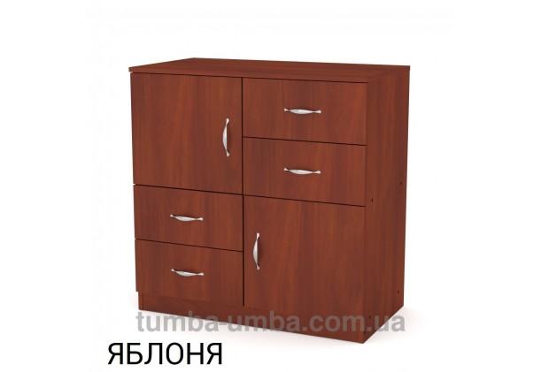 Фото недорогой современный комод 2+4 Компанит цвет яблоня в интернет-магазине TUMBA-UMBA™ Украина