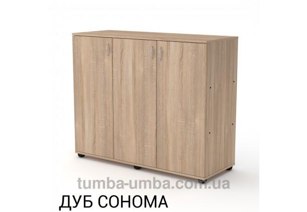 Комод - тумба 3Д ДСП с дверцами