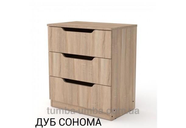 Комод 3М с дверцами и ящиками