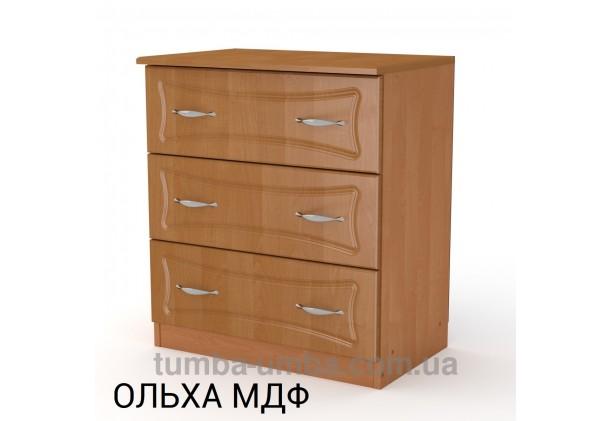 Комод 3А МДФ с тремя ящиками