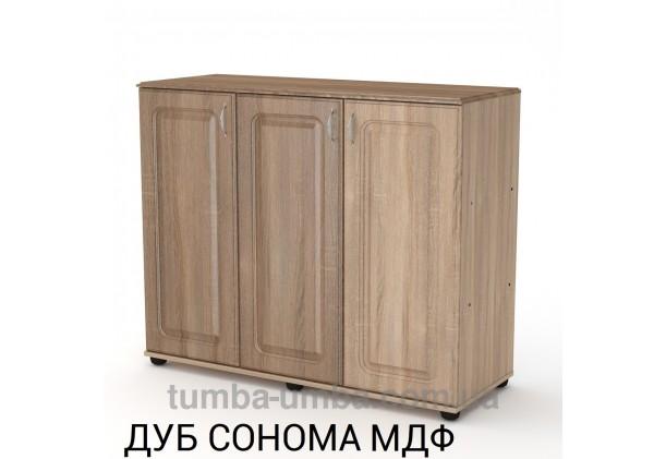 Комод - тумба 3Д МДФ с дверцами