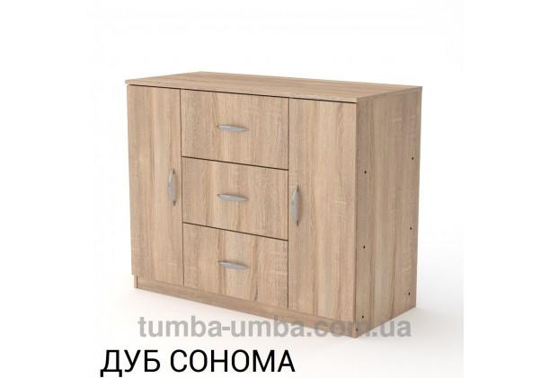 Комод 3+2 с дверцами и ящиками