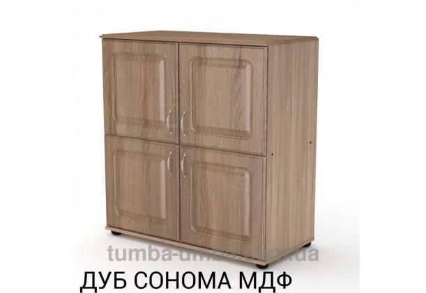 Комод - тумба 4Д МДФ с дверцами