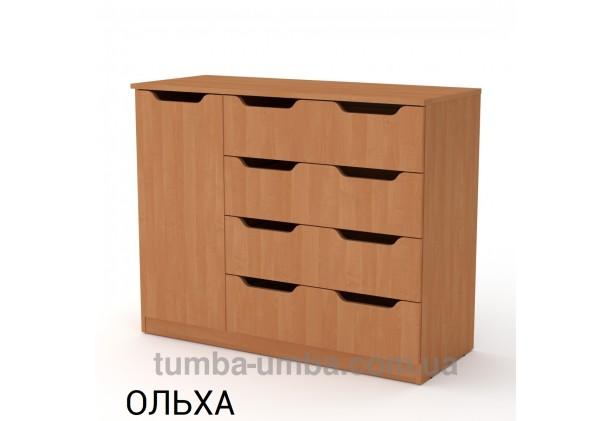 Комод 4+1М с дверцами и ящиками
