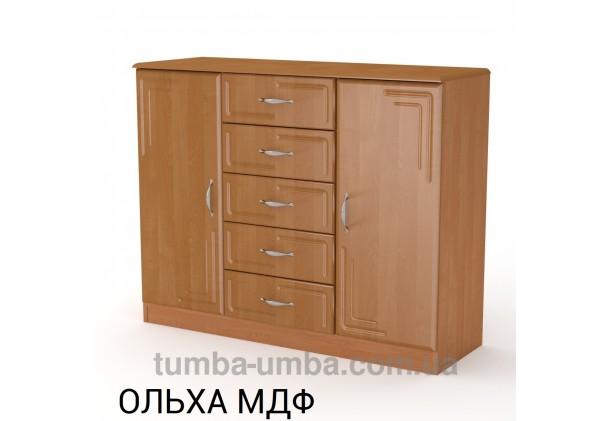 Комод 5+2 МДФ с дверцами и ящиками