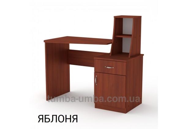 Фото готовый прямой стандартный стол Школьник-3 в офис, для ребенка, для дома или для учителя в цвете яблоня дешево от производителя с доставкой по всей Украине