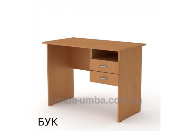 Фото готовый прямой стандартный стол Школьник в офис, для ребенка, для дома или для учителя в цвете бук дешево от производителя с доставкой по всей Украине