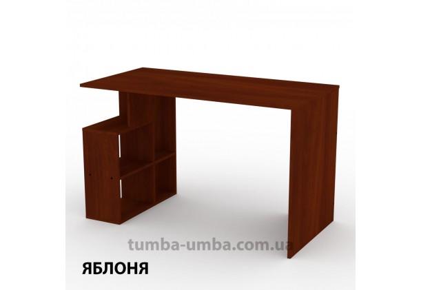 Фото готовый прямой стандартный стол Ученик-3 в офис, для ребенка, для дома или для учителя в цвете яблоня дешево от производителя с доставкой по всей Украине