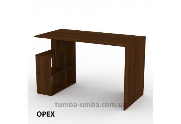 Фото готовый прямой стандартный стол Ученик-3 в офис, для ребенка, для дома или для учителя в цвете Орех Экко дешево от производителя с доставкой по всей Украине