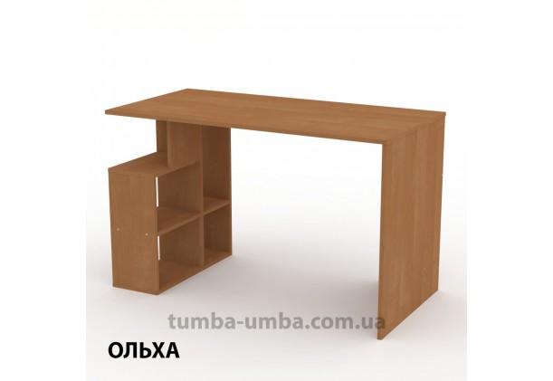 Фото готовый прямой стандартный стол Ученик-3 в офис, для ребенка, для дома или для учителя в цвете ольха дешево от производителя с доставкой по всей Украине