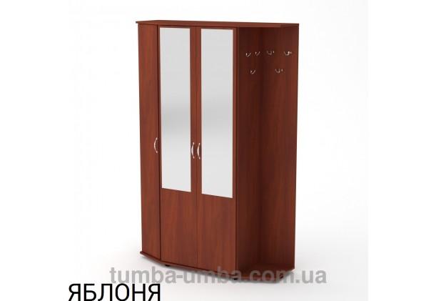 Фото готовая прихожая Виктория со шкафом и зеркалом в коридор в цвете яблоня дешево от производителя с доставкой по всей Украине