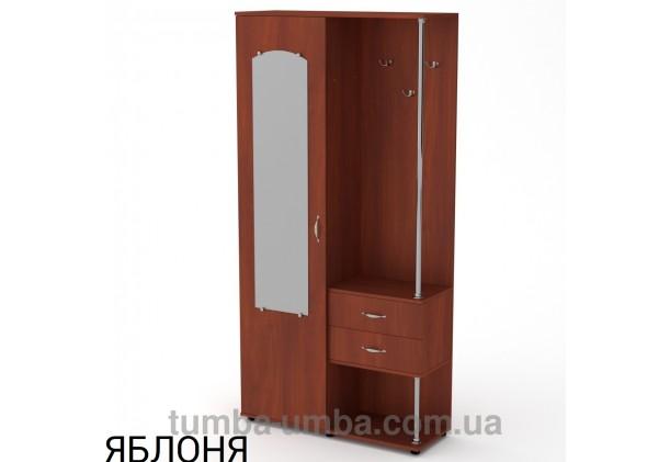 Фото готовая прихожая Надежда со шкафом и зеркалом в коридор в цвете яблоня дешево от производителя с доставкой по всей Украине