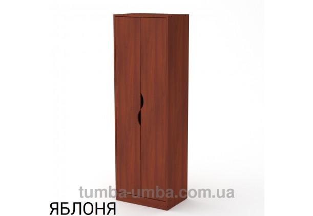 Фото недорогой готовый стандартный платяной Шкаф Диана ДСП для одежды в цвете яблоня дешево от производителя с доставкой по всей Украине